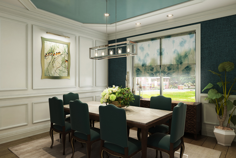 Menomonee Dining Room, Interior Design by Mia Rao Design