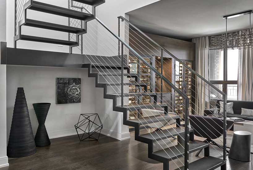 Penthouse Stairs Landing