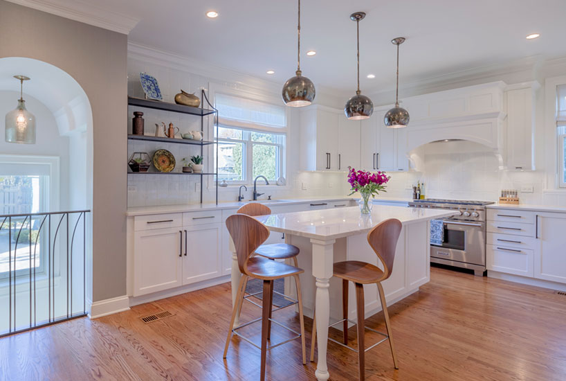 Queen Anne Kitchen Island