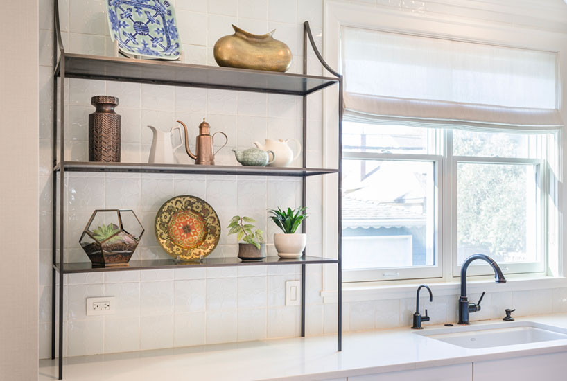 Queen Anne Kitchen Shelves