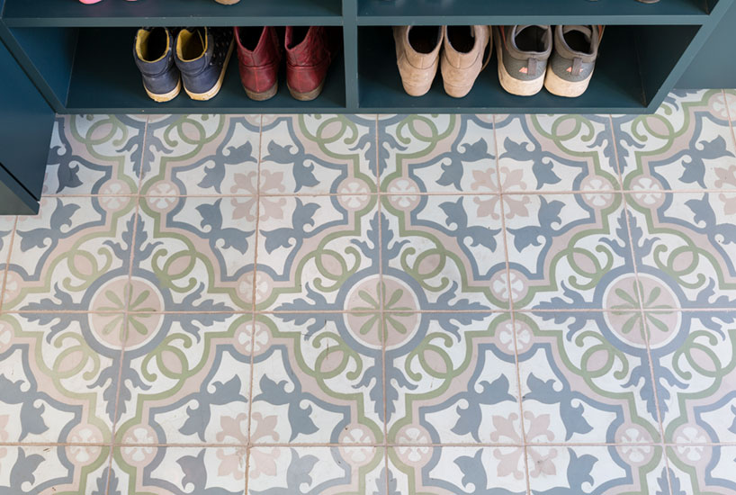 Queen Anne Office Tile Floor