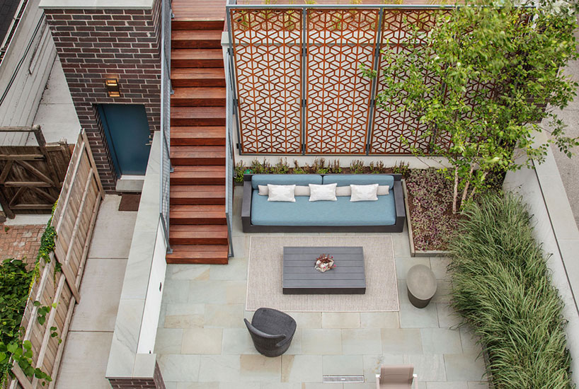 Soulful Dwelling Deck from Above, Interior Design by Mia Rao Design